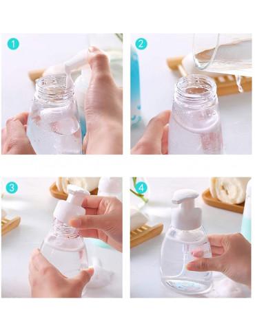 Bouteille de savon moussant